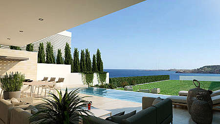 **SPECIAL OFFER – FROM €800,000 NOW €700,000** 3 Bedroom Detached Luxury Beach Front Villa in Cape Greco