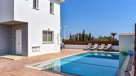 WONDERFUL 3 BEDROOM LUXURY VILLA IN PROTARAS WITH SHARE OF LAND